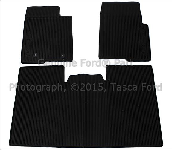 oem ford floor mats all weather al3z 1613300 fa. Black Bedroom Furniture Sets. Home Design Ideas