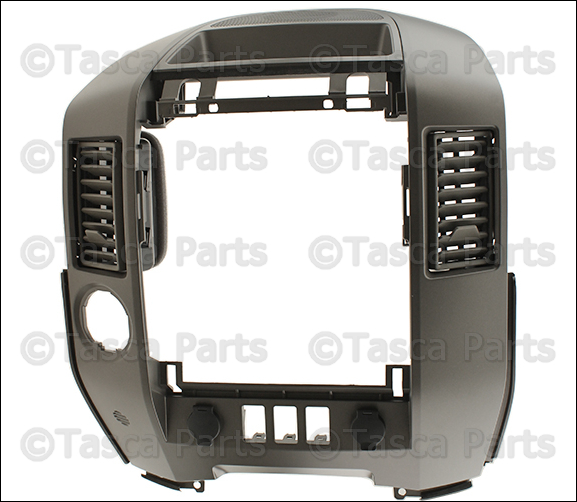 Center Bezel For 2004 Nissan Titan 68257 7s000