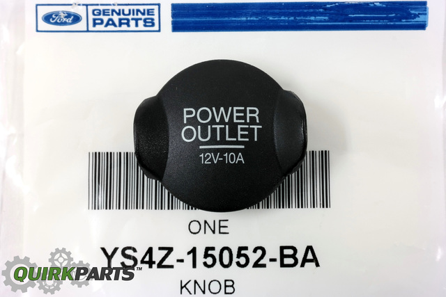 Chrome Power Outlet Plug For 2006 Ford Mustang Gt
