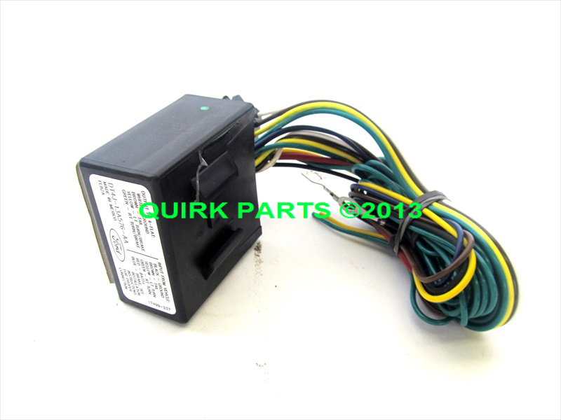 Ford edge flex escape mkx pin trailer hitch wiring