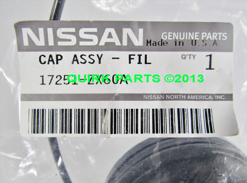 how to open gas cap in nissan altima