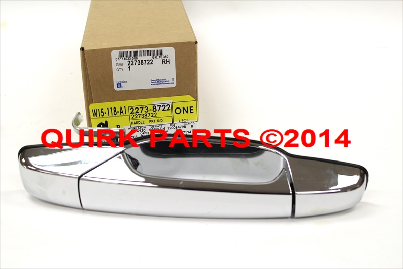 2007 2013 Chevy Gmc Cadillac Front Right Hand Passenger Chrome Door Handle Oem For 2014 Gmc
