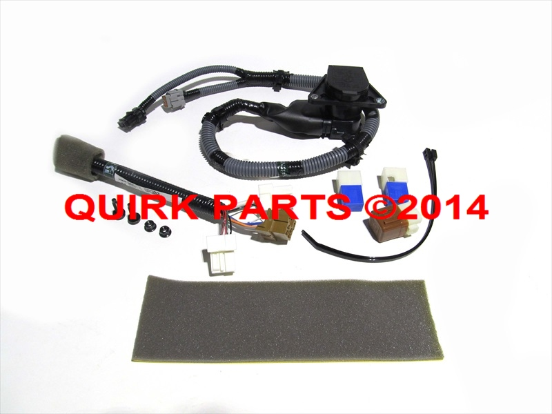 Nissan xterra pin trailer tow harness new