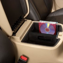 FRONT CENTER CONSOLE ORGANIZER TRAY, BLACK - GM (22817343)
