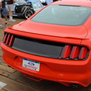 2015-2016 MUSTANG DECK LID TRIM PANEL