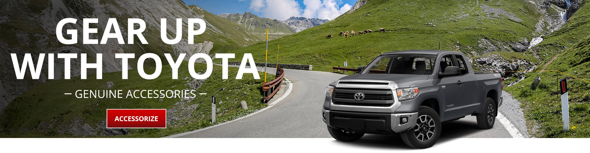 Toyota Genuine Accessories - Roof racks, wheels, truck accessories, hauling