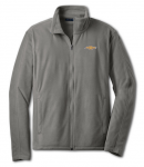 Gray Fleece Chevy Logo