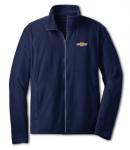 Navy Fleece Chevy Logo Large