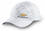 White Hat W/ Chevy Racing Logo