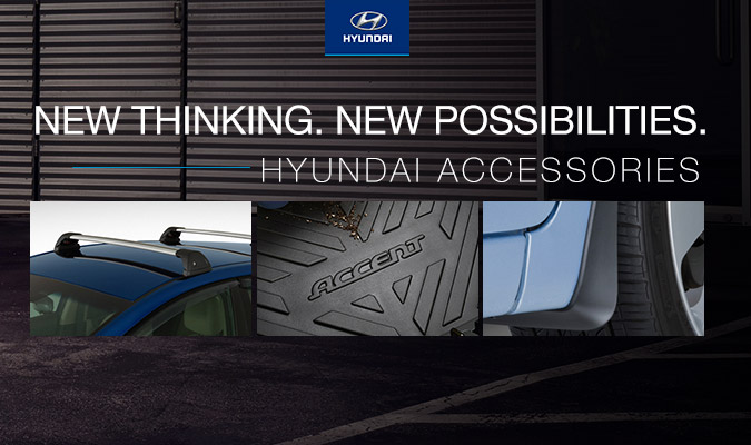 New thinking. New possibilities. - Hyundai Accessories
