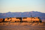 UP 4258 4971 MoW Train