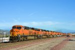 BNSF 6541 12 Locomotive Lite Power Move