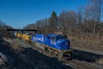 CSX Q364 brings the Olympic Torch to Selkirk