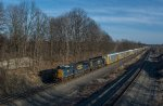 CSX L279 with an SD80MAC