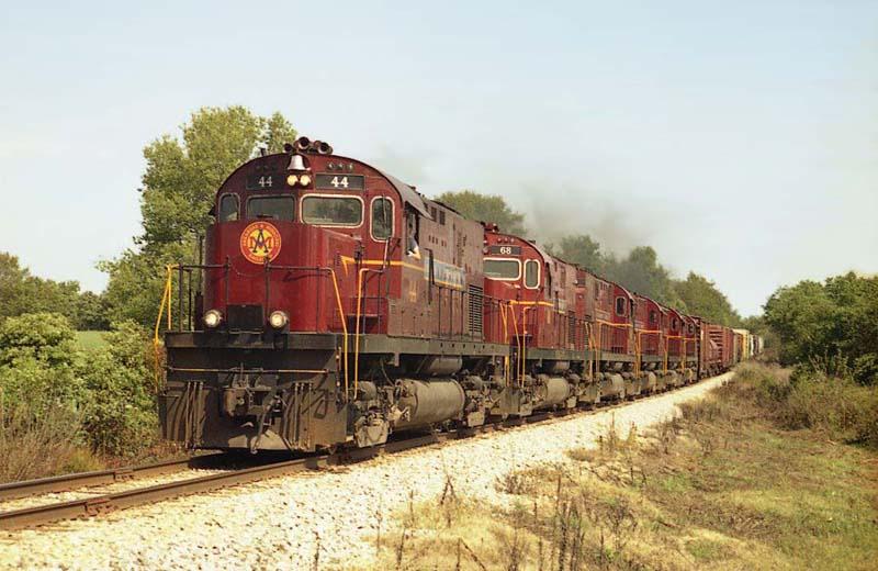 Arkansas & Missouri Railroad Alco C420'S