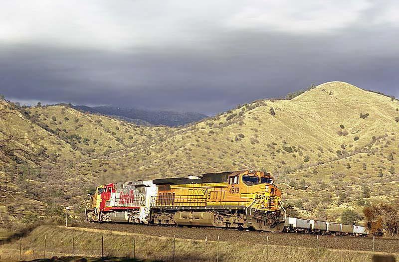 BNSF'S Mojave Sub
