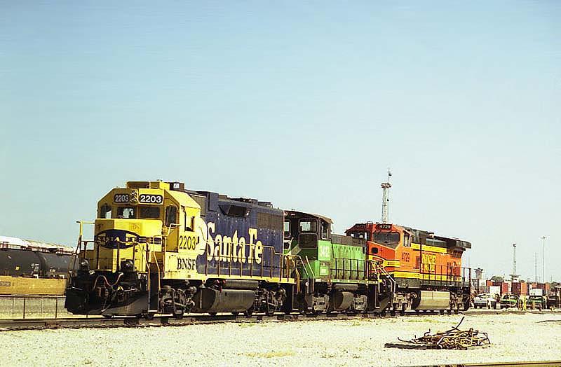BNSF'S Tennessee Yard
