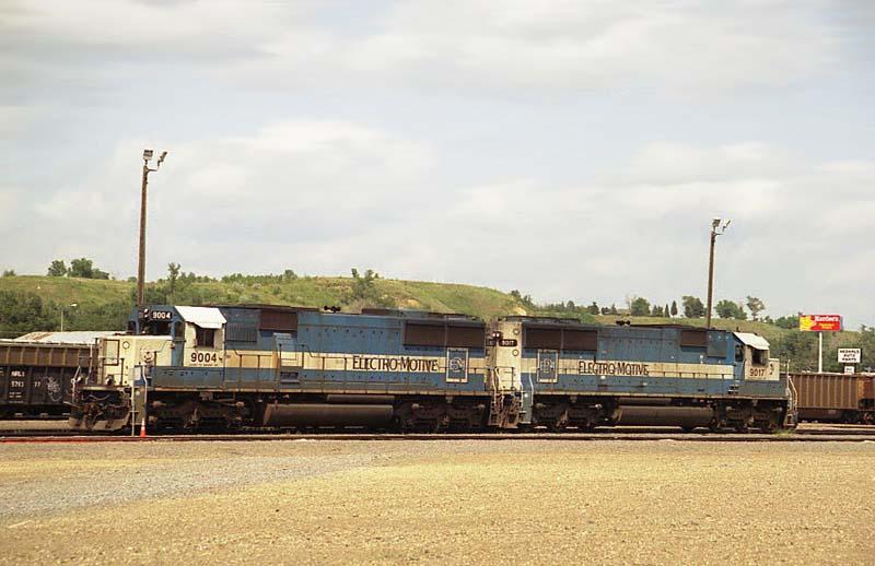 BNSF'S Bismarck Yard