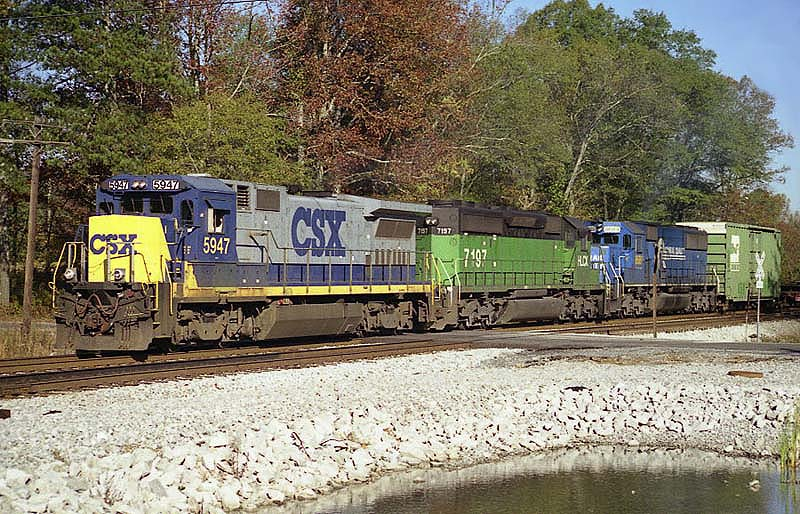 CSXT'S S&NA North Sub