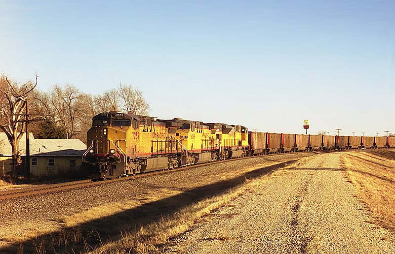 BNSF'S Arkansas City Sub