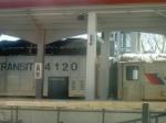 At the platform