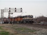BNSF SD70MAC 9565