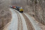 NS 8100 with NS and BNSF