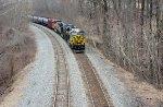 NS 8100 Nickel Plate Road lead CSX K055