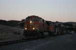 BNSF Stack Train in Franklin Canyon