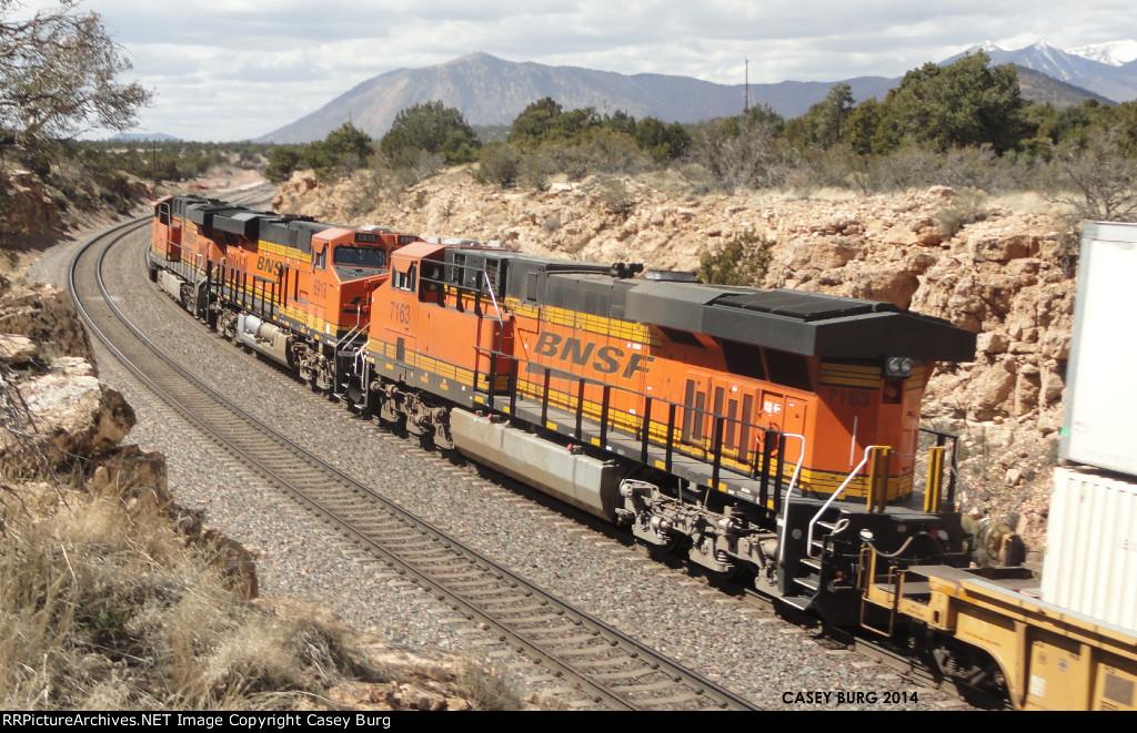 BNSF 7163