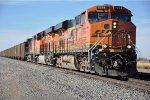 Coal train rolls east