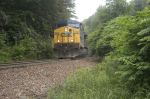 csx 240 loaded coal sb between spruce pine and atla pass nc