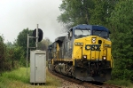 CSX 556 passing the soon to be obsolete APP marker
