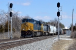 CSX 3133 at Rossville interlocking