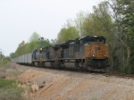 Mar 31, 2007 - CSX 4831 leads V486 south