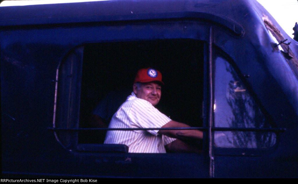 441's smiling engineer