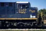 "CSXT 5107 ""W Thomas Rice Special"""