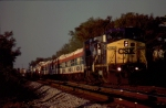 "CSXT P913 ""James E Strates Carnival"" Train"