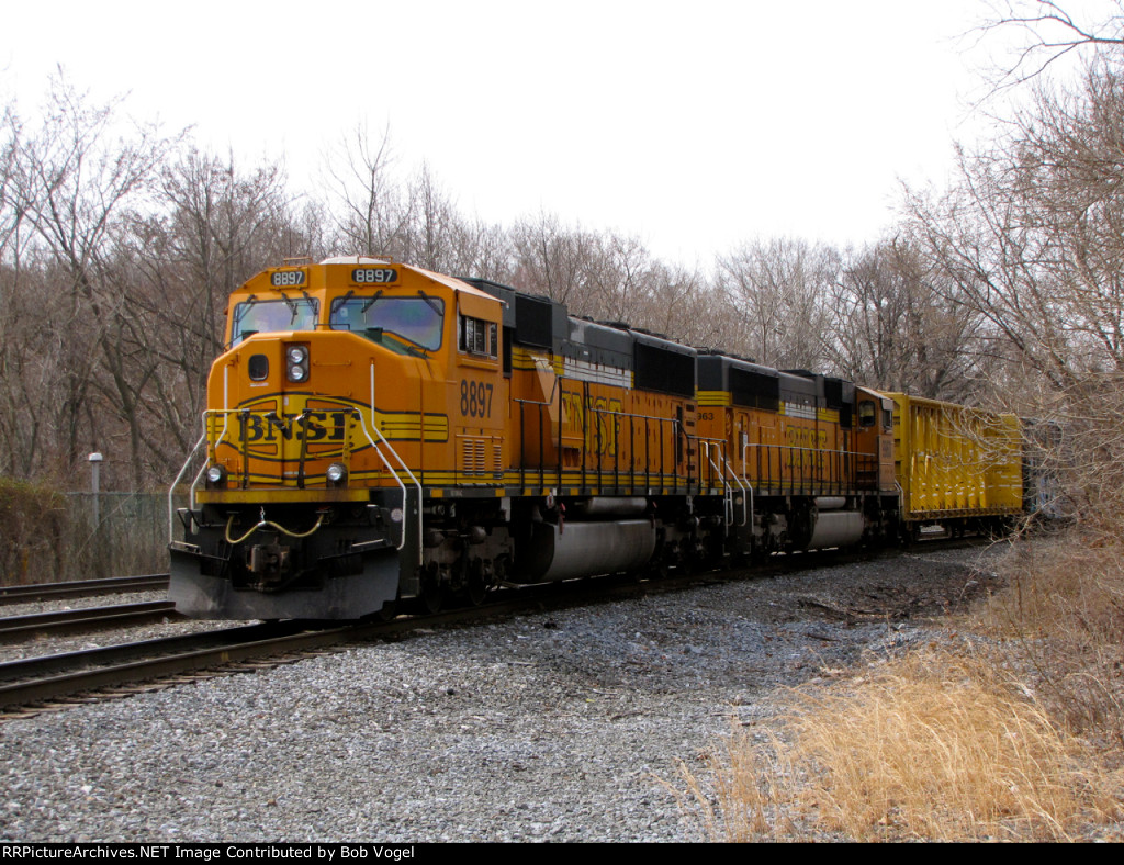 BNSF 8897 and 9963