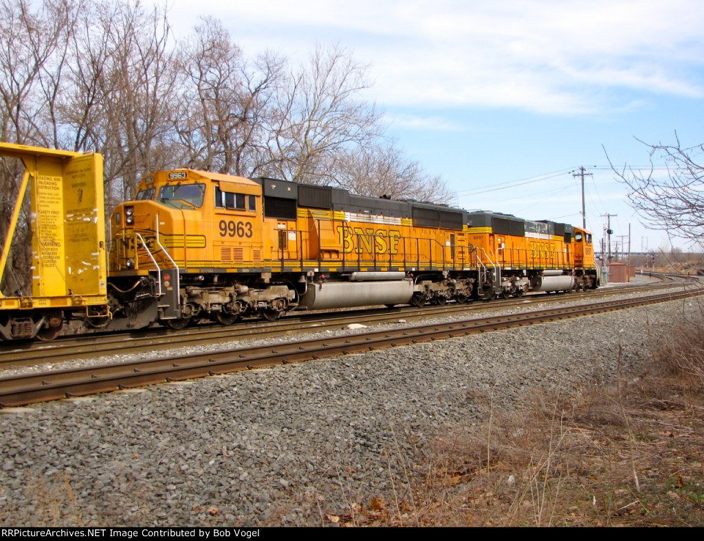 BNSF 9963 and 8897