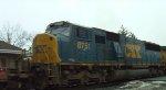CSX 5276 & 8751 Lead a Westbound Intermodal