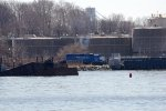 NYNJ 2200 pulling the float of inbound freightcars