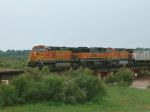 Northbound BNSF Intermodal