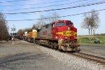 BNSF C44-9W #4712 on K040