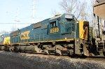 CSX SD50-2 #8589 on Q410