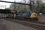CSX C40-9W #9025 on Q301-01