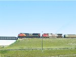 CN/BNSF Lashup On CP