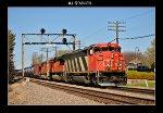 CN 5556, BNSF 9316 & 253