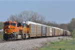 BNSF 8014 On NS 288 Westbound