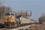 KCS 4608 On NS 264 Northbound